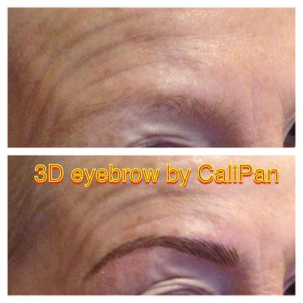 Semi Permanent Makeup 3d Eyebrow Calis Beauty Clinic Cork