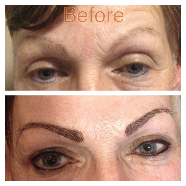 Semi-permanent makeup (3D EyeBrow) | Cali's Beauty Clinic Cork
